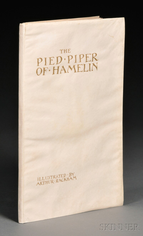 (Rackham, Arthur, Illustrator (1867-1939)), Signed Copy & Browning, Robert