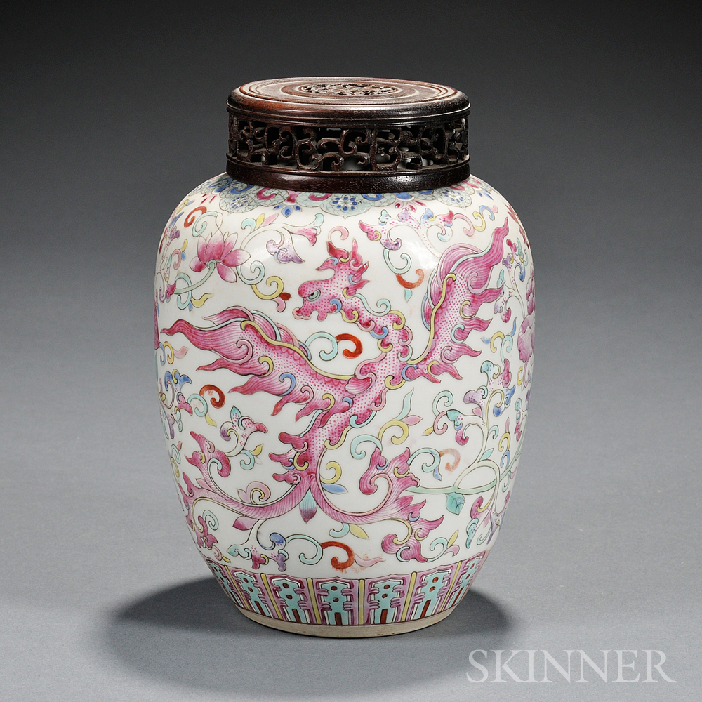 Enameled Jar