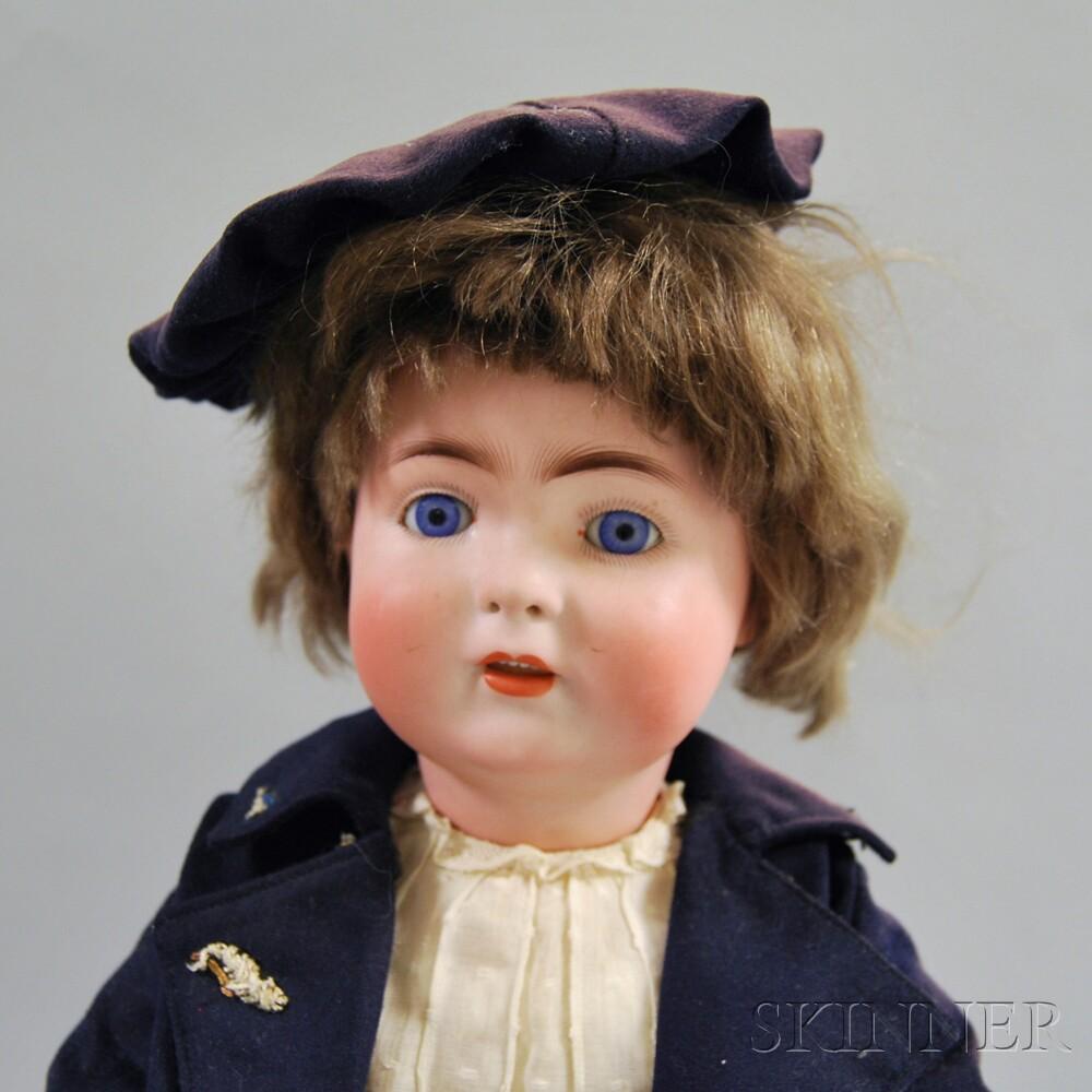 Alt, Beck & Gottschalck Bisque Head Boy Doll