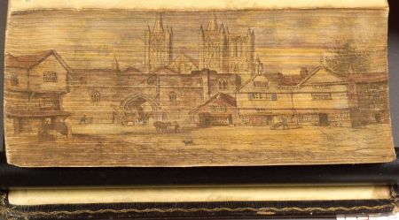 (Fore-Edge Painting, Double)