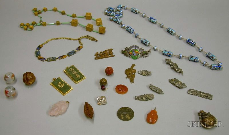 Assorted Asian Jewelry and Findings.