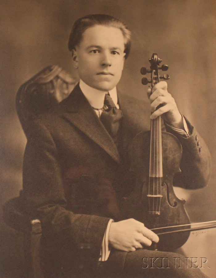 Framed Print, of a Hotel Violinist, Springfield, Massachusetts, c. 1920