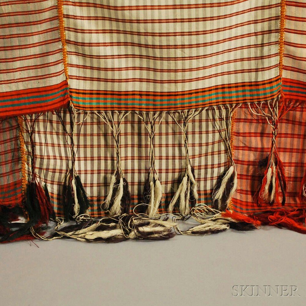 Three Traditional Woven Silk Sashes