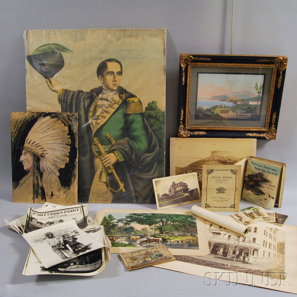 Group of Photographs, Cabinet Cards, and Prints