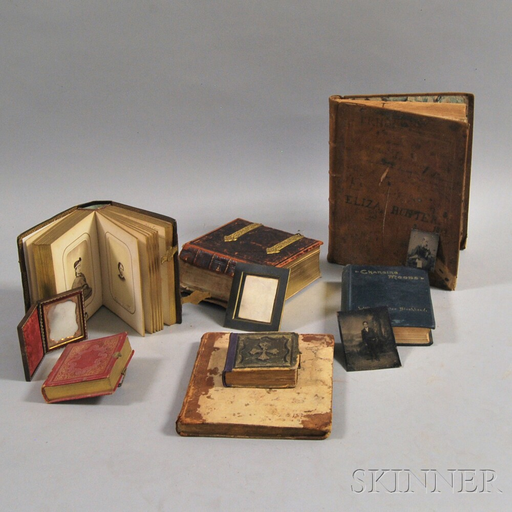 Small Group of Early Photos, Journals, and Books