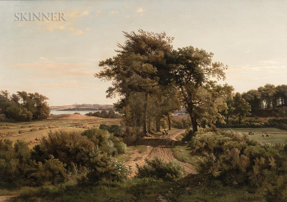 Louis Gurlitt (German, 1812-1897)      Landscape with River