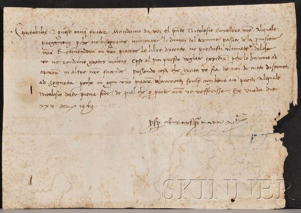 (Italy, 15th Century), Adorno, Prosper