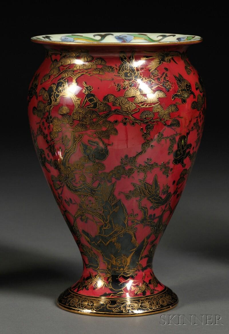 Wedgwood Fairyland Lustre Firbolgs Vase