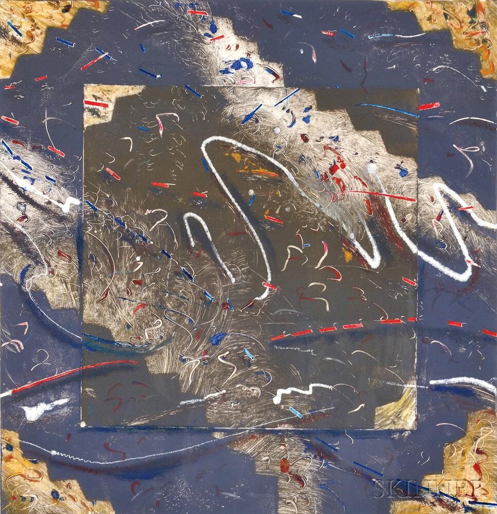 Robert Siegelman (American, b. 1954)      Untitled Monotype