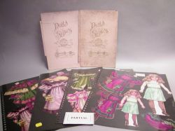 Tuck Dolls of Seasons, Sweet Alice, and Two Envelopes