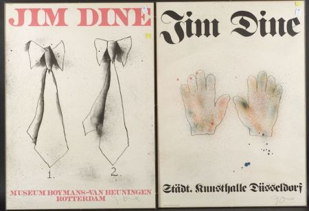 Jim Dine (American, b. 1935)  Lot of Two Exhibition Posters