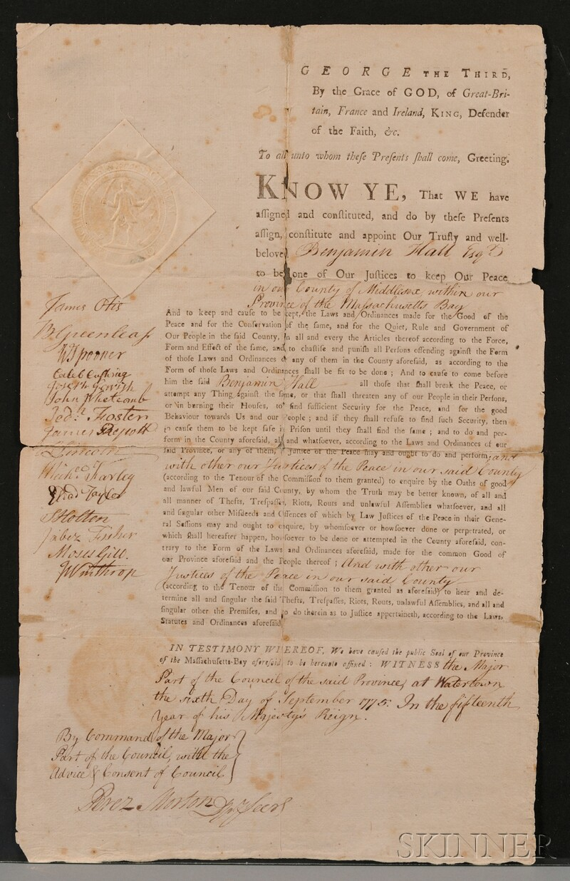 (Colonial America, Massachusetts), Massachusetts-Bay Council