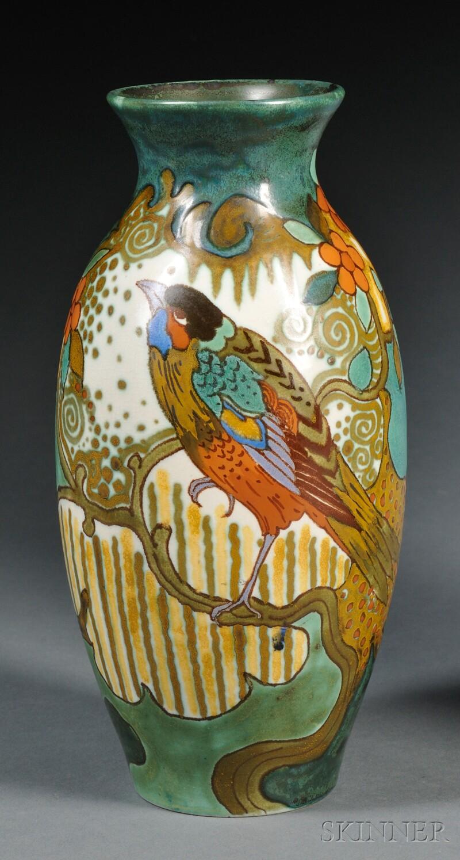 Zuid Holland Gouda Pottery Semi-matte Glaze Vase