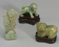Three Jade Carvings