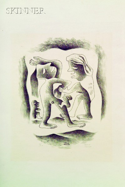 Carlos Mérida (Guatemalan, 1895-1984)      Dancing Figures