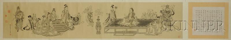 Handscroll of Buddha