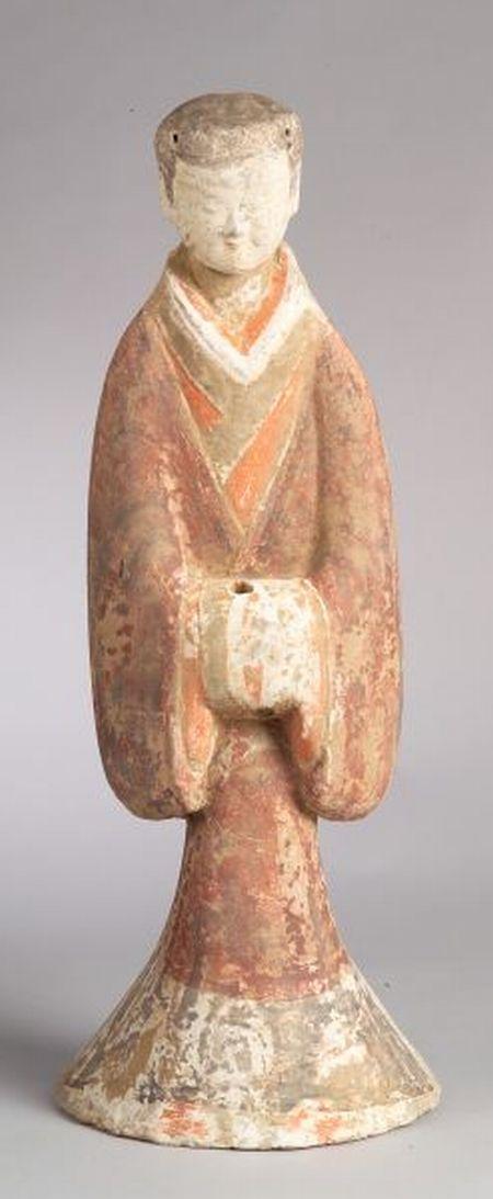 Pottery Figure of a Servant