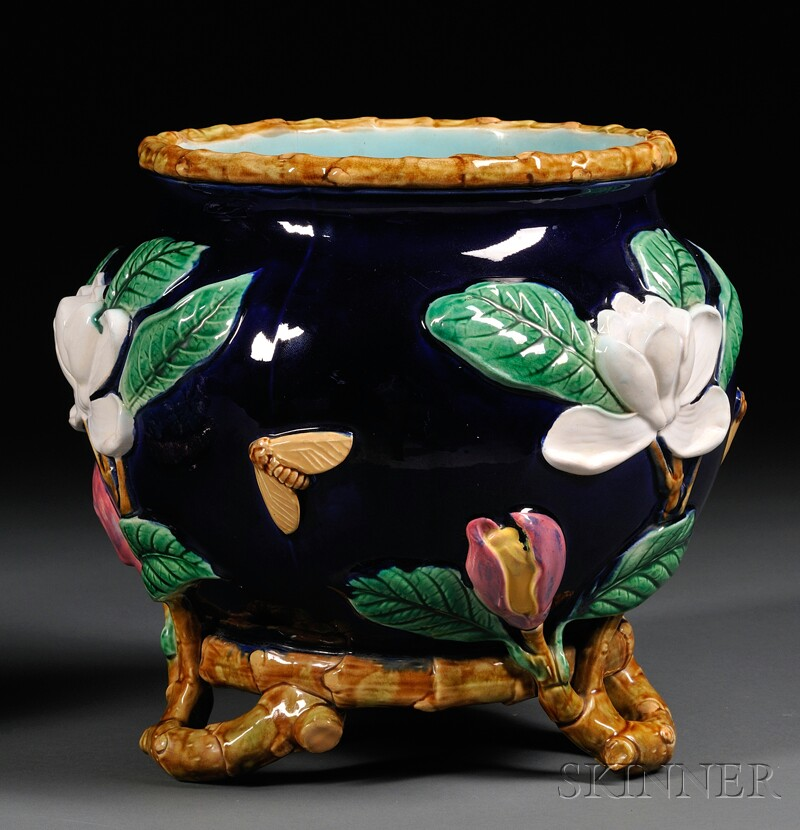 George Jones Majolica Jardiniere