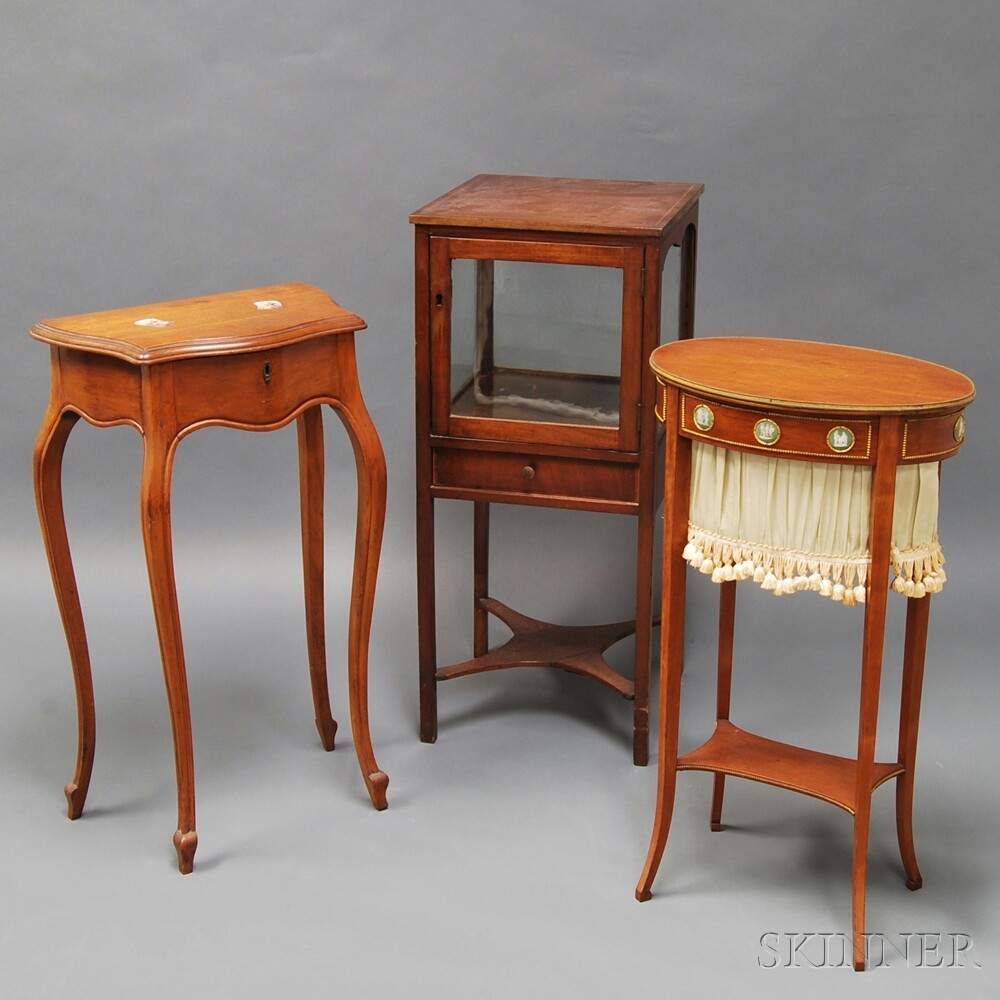 Three Pieces of Miscellaneous Furniture