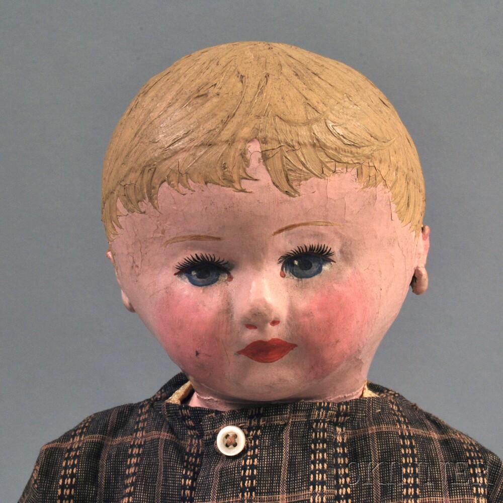 Martha Chase-type Stockinette Doll