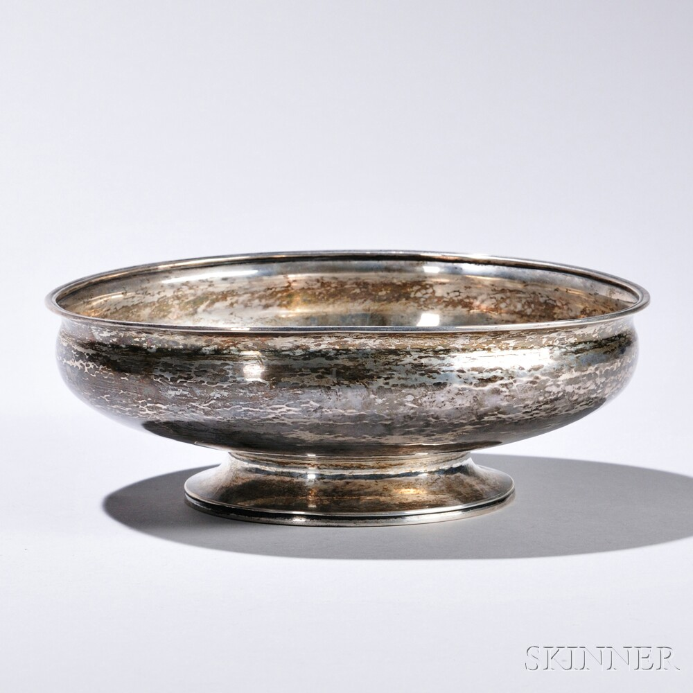 American Arts and Crafts Sterling Silver Bowl