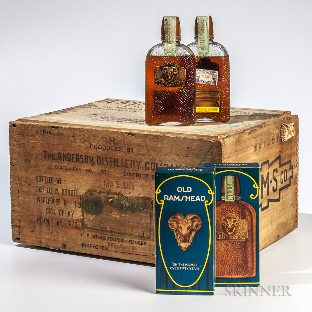 Old Rams Head 14 Years Old 1916, 24 pint bottles (oc)