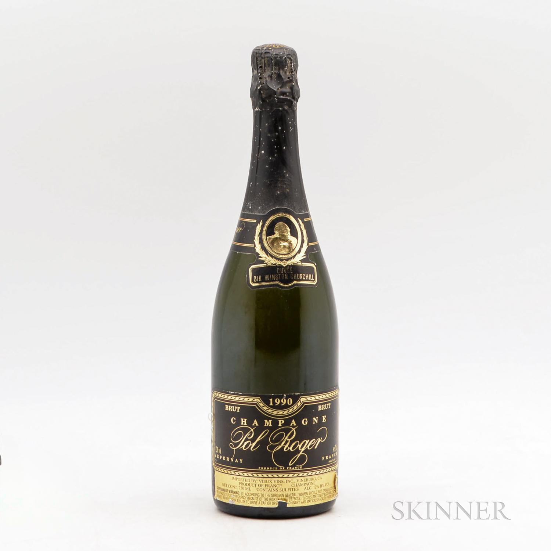 Pol Roger Cuvee Winston Churchill 1990, 1 bottle