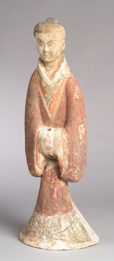 Pottery Figure of an Attendant