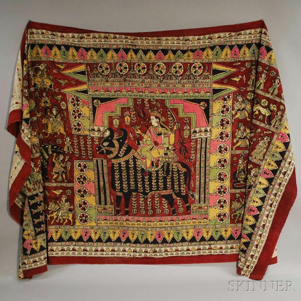 Fourteen Assorted Indian Textiles