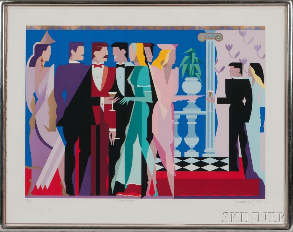 Giancarlo Impiglia (American, b. 1940)    Night People I