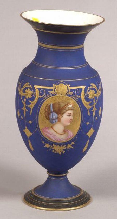 Paris Porcelain Mantel Vase