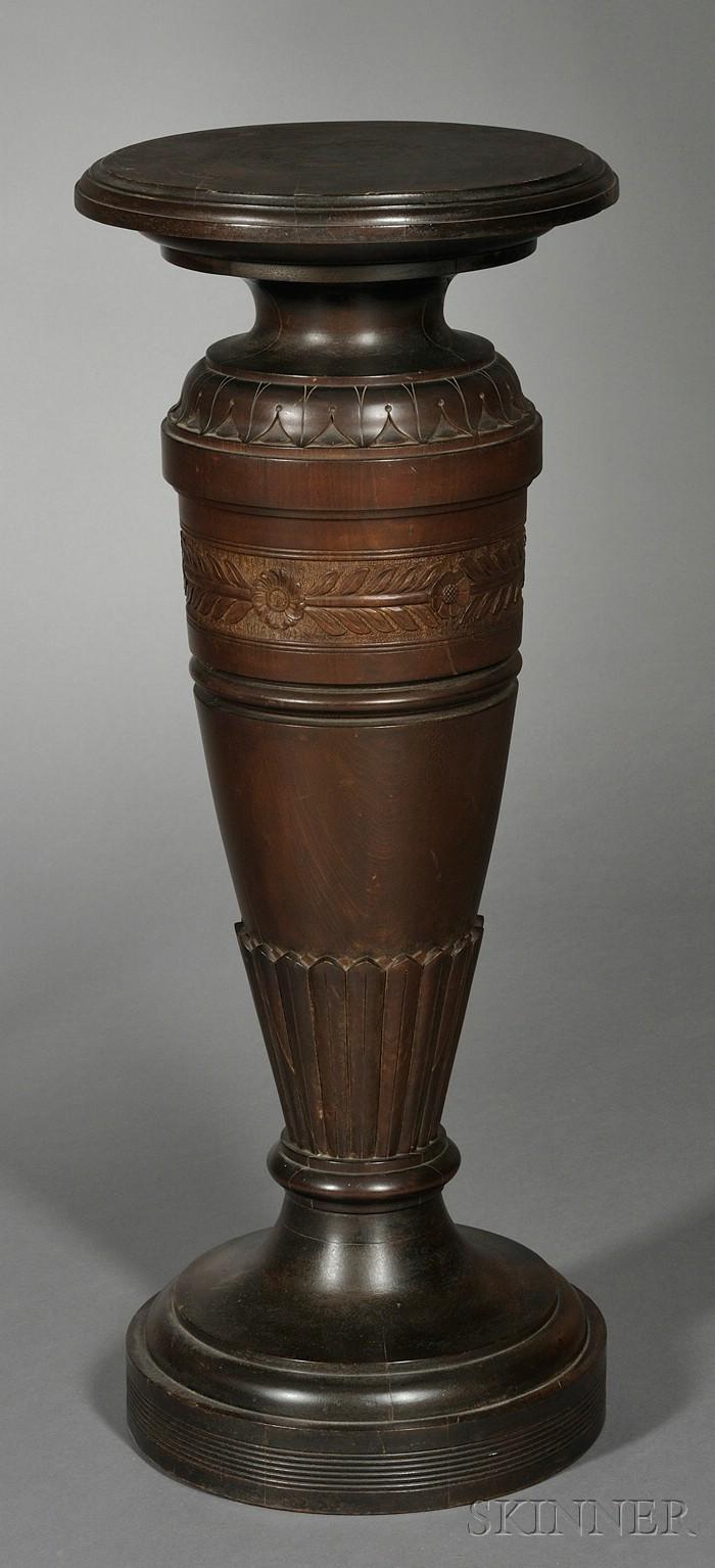 Aesthetic Movement Walnut Pedestal
