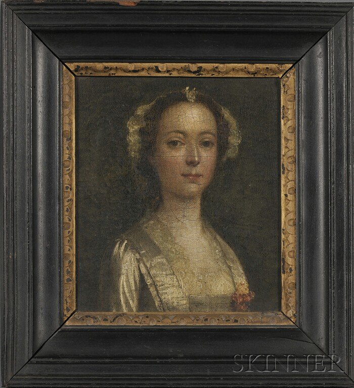 British School, 18th Century      Portrait of a Woman, thought to be Lady Hervey, née Mary (Molly) Lepell (1706-1768)