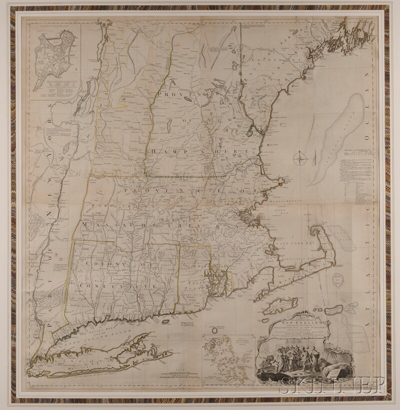 (Maps and Charts, North America), Jefferys, Thomas (d. 1771)