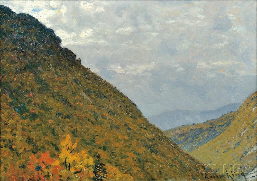 John Joseph Enneking (American, 1841-1916)      Twin Mountains, N.H.