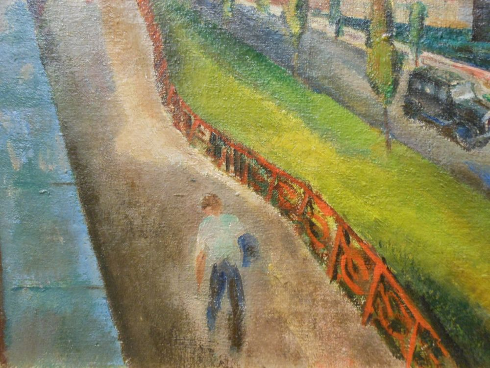 Stuyvesant Van Veen (American, 1910-1988)      High Bridges