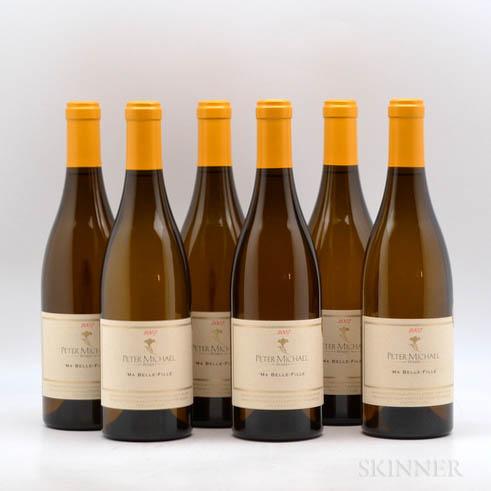 Peter Michael Ma Belle Fille Chardonnay 2007, 6 bottles