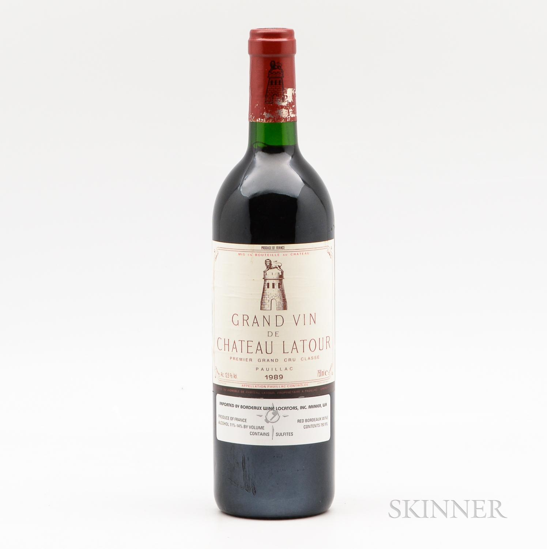 Chateau Latour 1989, 1 bottle