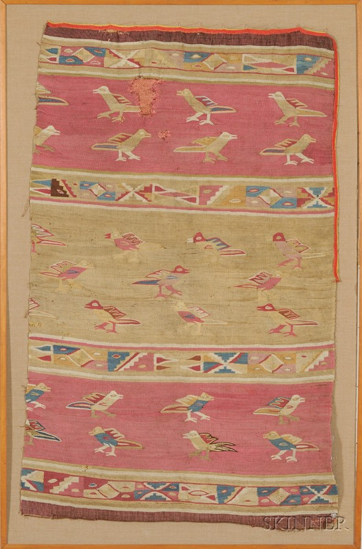 Pre-Colombian Textile Fragment