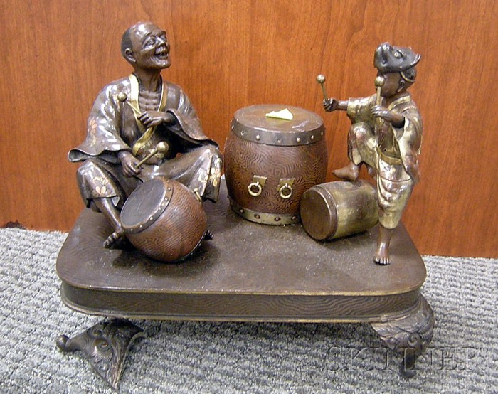 Bronze Figural Group