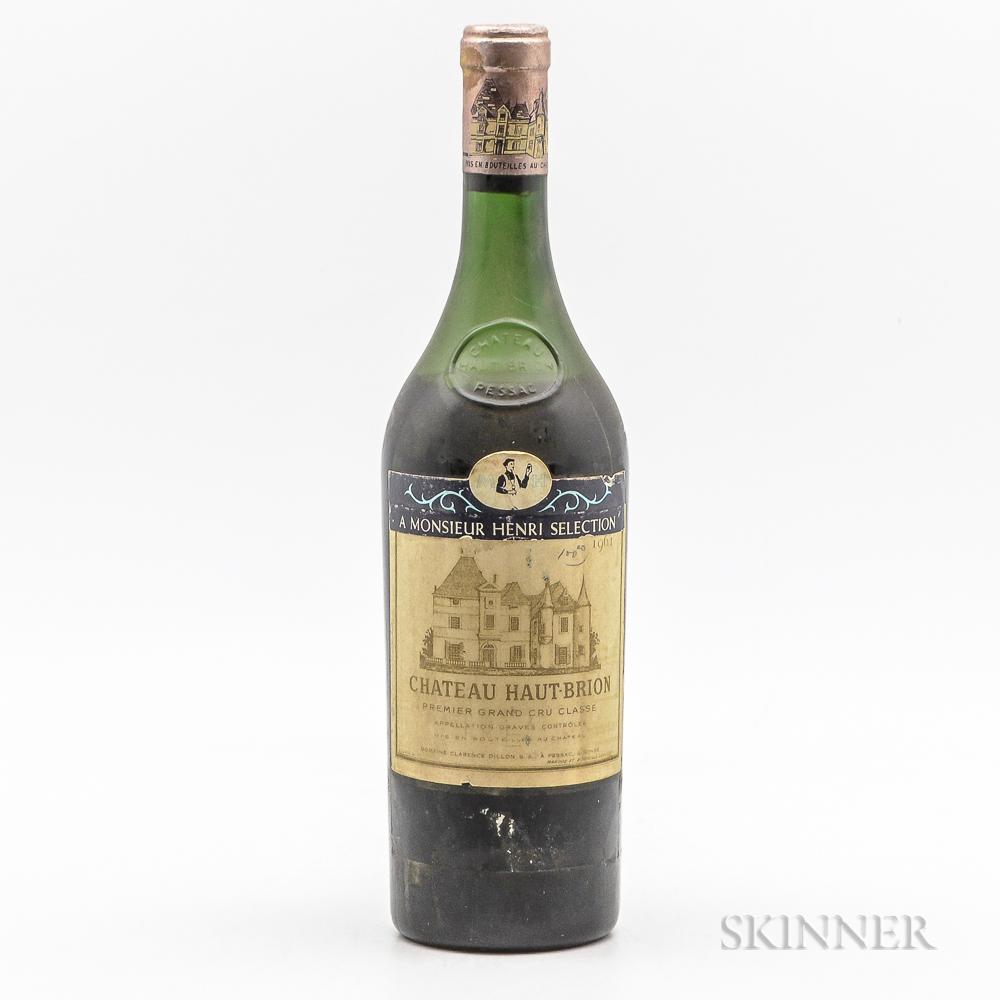 Chateau Haut Brion 1961, 1 bottle