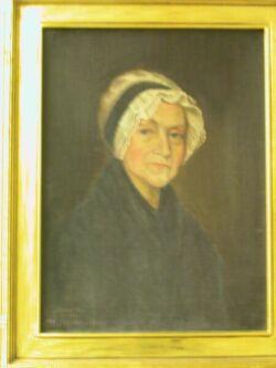 Framed Portrait of Dorothy Hill