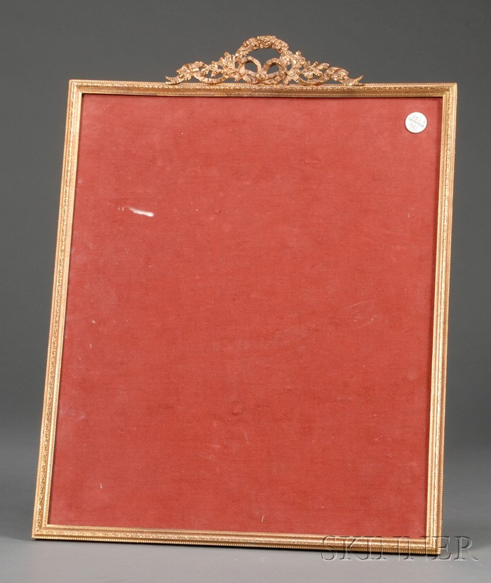 Classical Revival Bronze Picture Frame