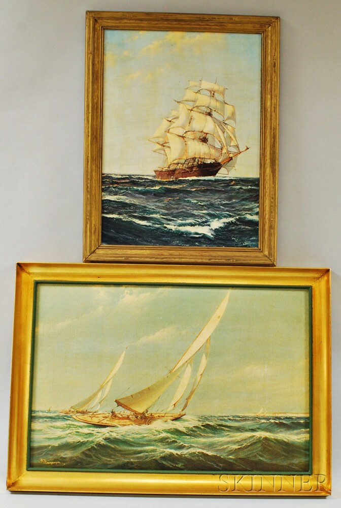 Five Framed Works