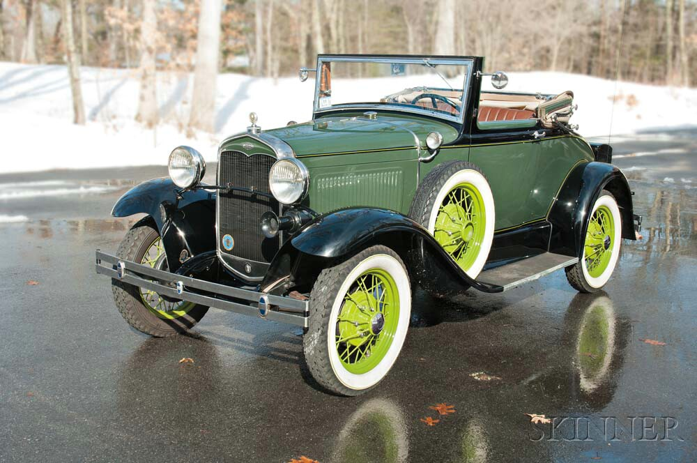 sold for 23000 1931 ford cabriolet