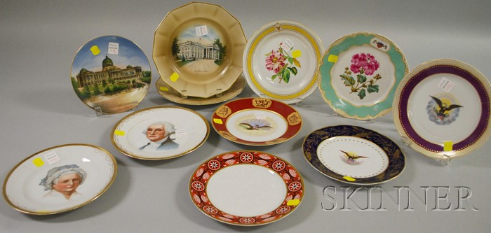 Eleven Collectible U.S. Presidential and Political Porcelain Plates