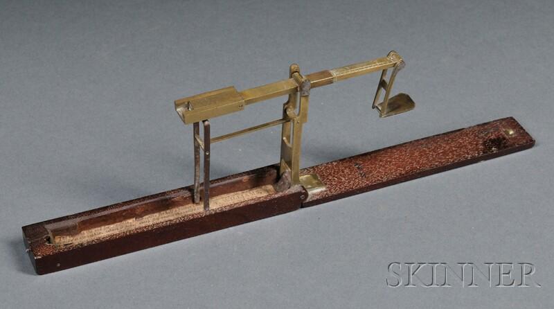 Brass Pocket Balance by T. Williams