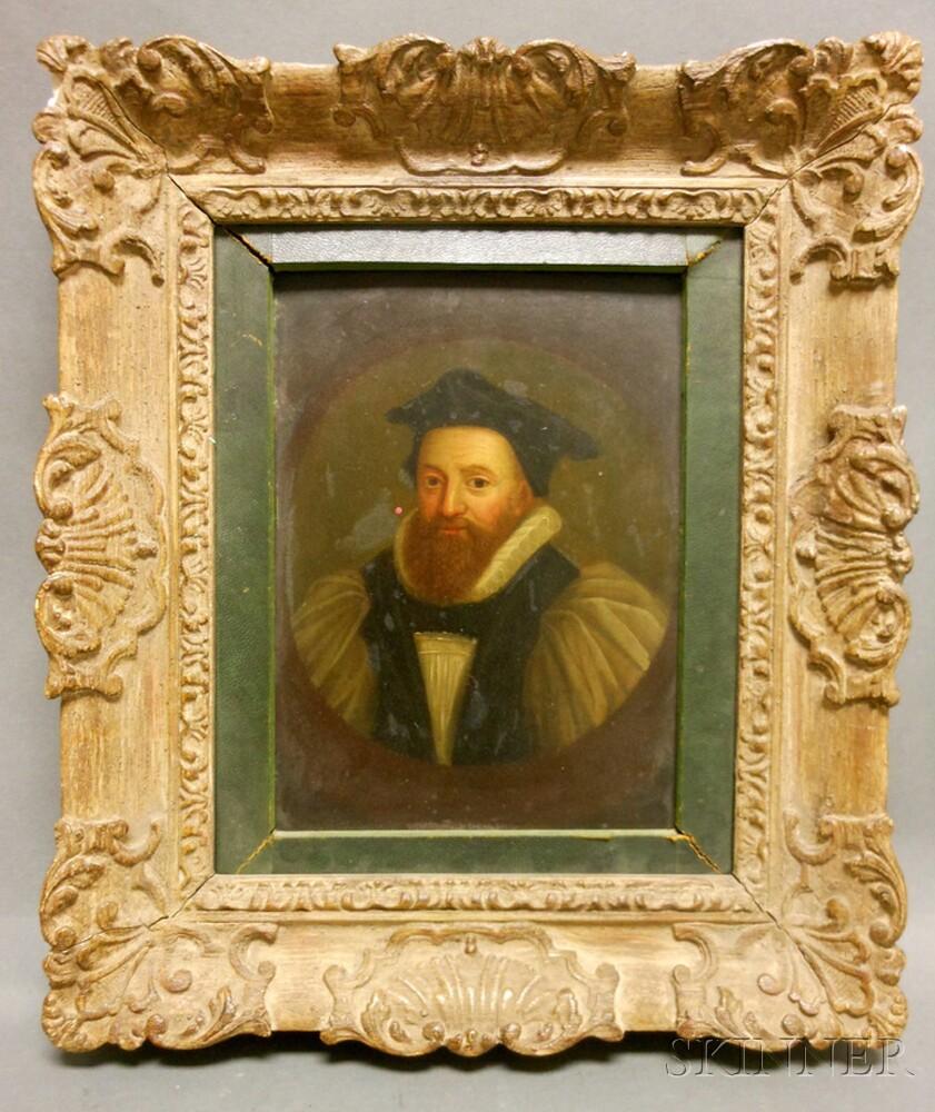 Dutch School, 17th Century Style      Portrait of a Man