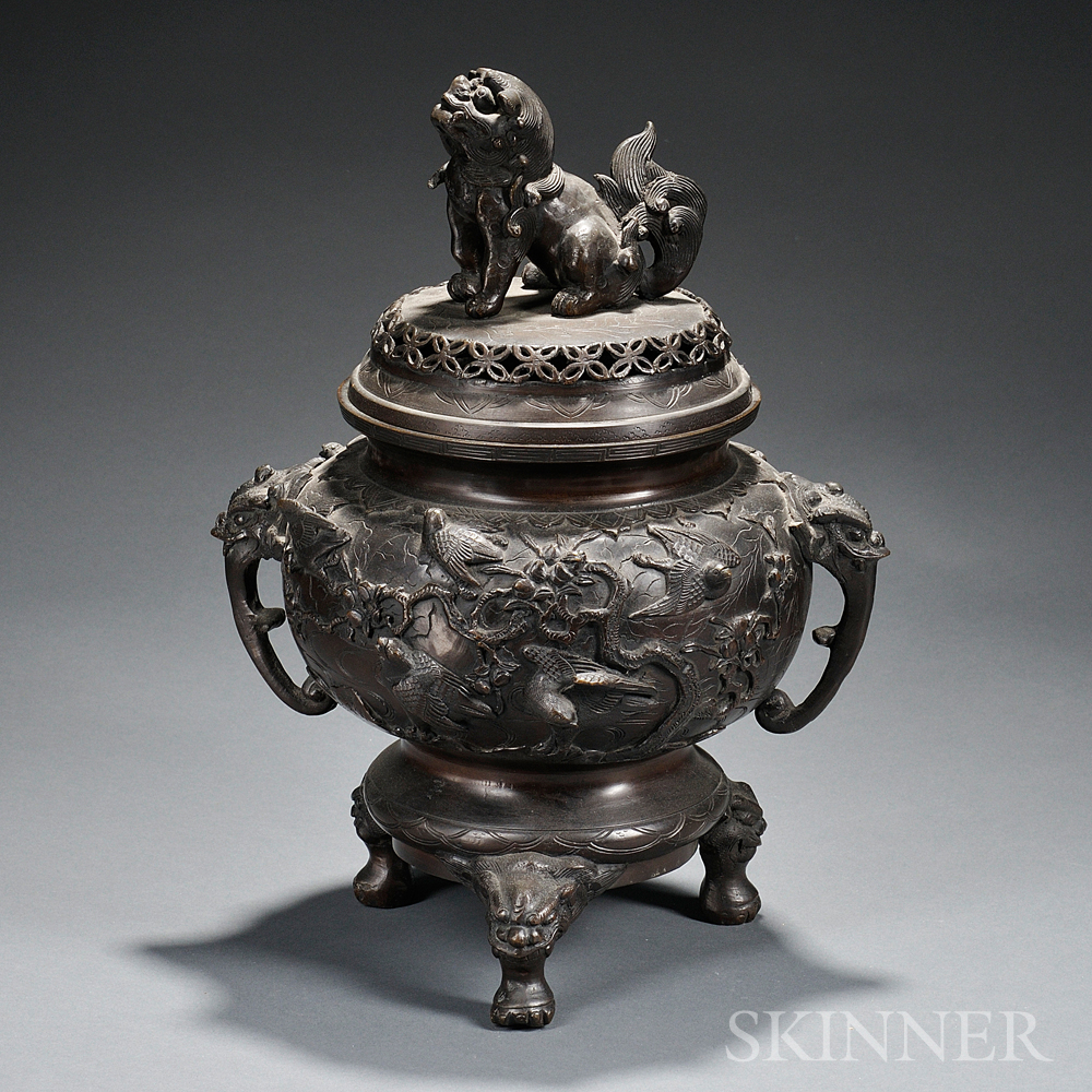 Bronze Covered Censer