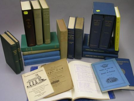 Collection of Twenty-four Cape Cod, Massachusetts Town Histories and Records